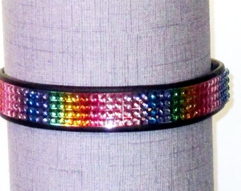 Jeweled Pride Dress Collar/Choker