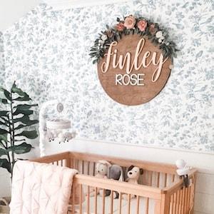 Indoor//Outdoor ISABEL Street Sign Childrens Name Room Decal