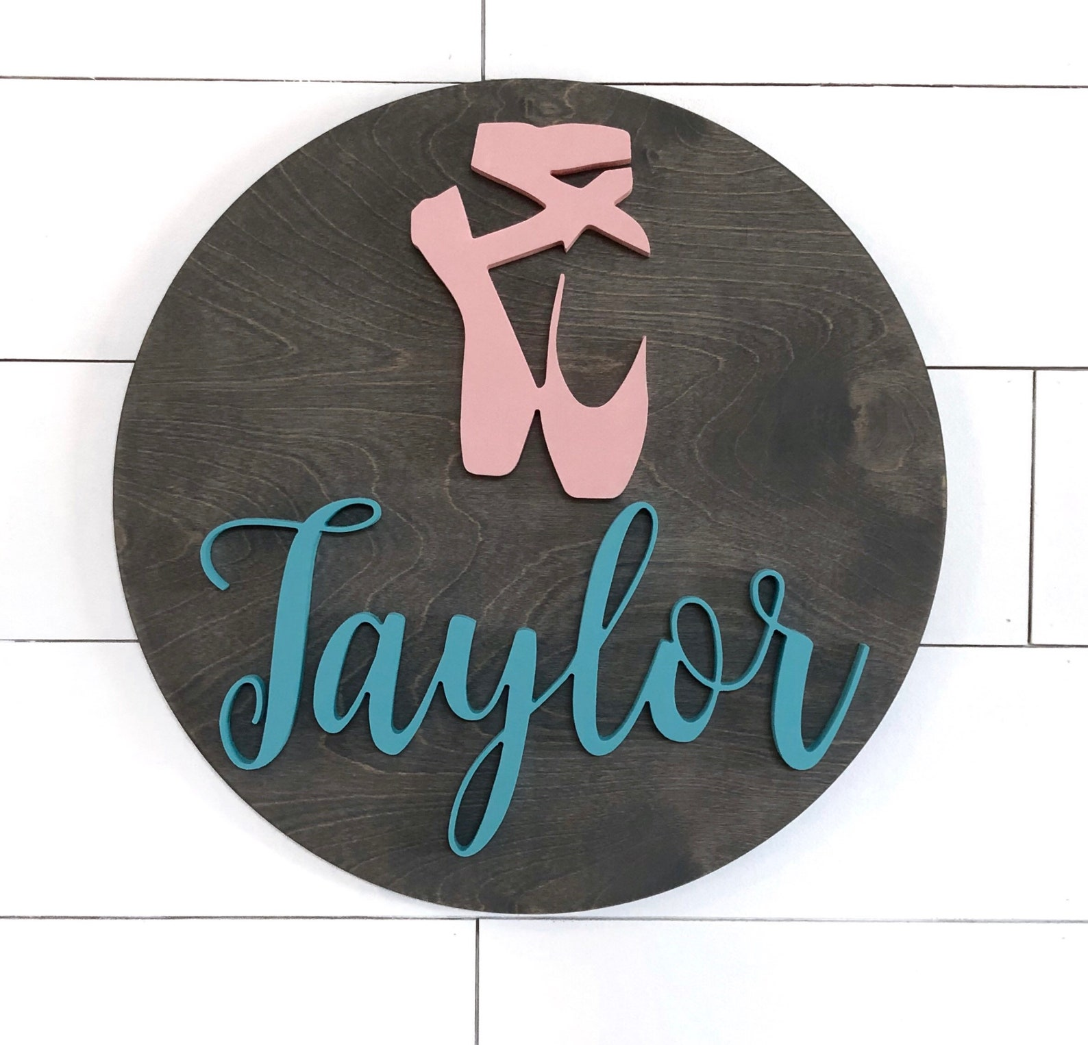 ballerina nusery sign| 24