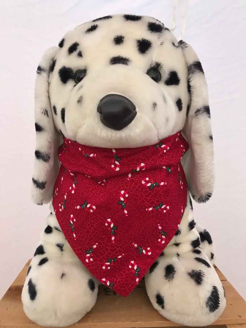 Candy Cane Christmas Dog Bandana