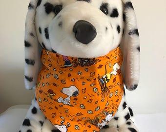 Fall Snoopy/Charlie Brown Dog Bandana