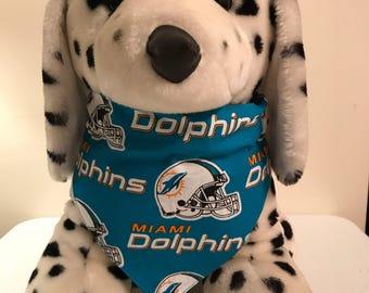 Miami Dolphins Dog Bandana