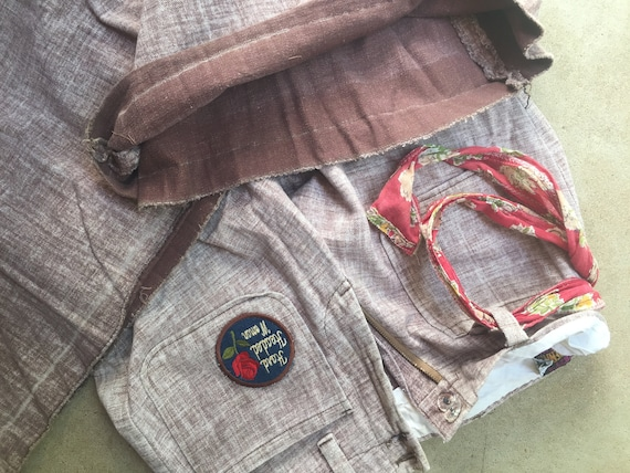 Vintage 70's bellbottom jeans - image 7