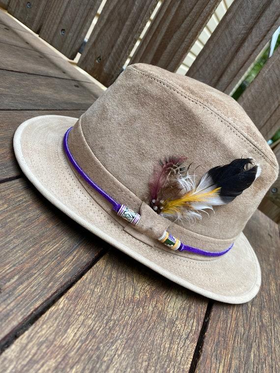 Vintage 70's Henschel fedora hat