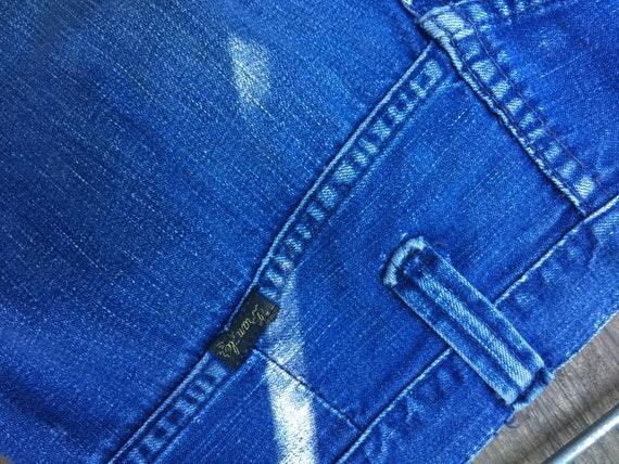 Vintage 70's wrangler bellbottom jeans - image 7