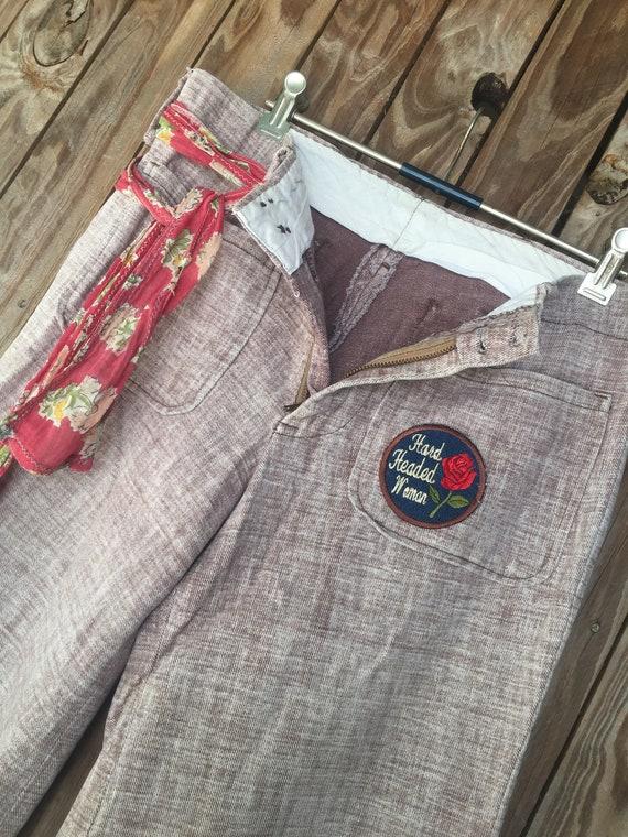 Vintage 70's bellbottom jeans - image 1