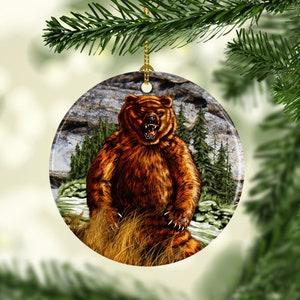 Porcelain Christmas Tree Ornaments Wild Turkey Wildlife Etsy