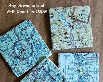 Aeronautical charts | Etsy