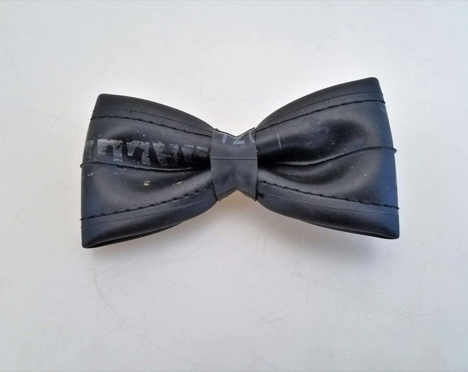Featured listing image: Vegan Bowtie Handmade from Upcycled Bike Tube