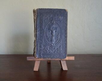 Antique German Religious Book, So Sollt Ihr Beten, Prayer Book in German Language, Pocket Size, AS IS, circa mid 1800s