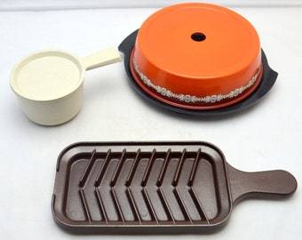 Vintage Nordic Ware Kitchen Items, Choice of Grill 'N Bake or Keep it Hot, 1980s Era, With Boxes