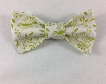 Green Bird Cat Bow tie, Cat tie, Cat Bow tie collar, Bow ties for Cats