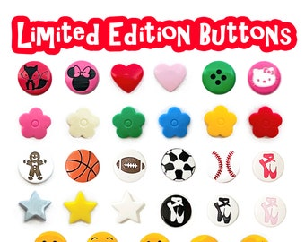 ADD Special Limited Edition Snap Buttons to your Bag Tag order