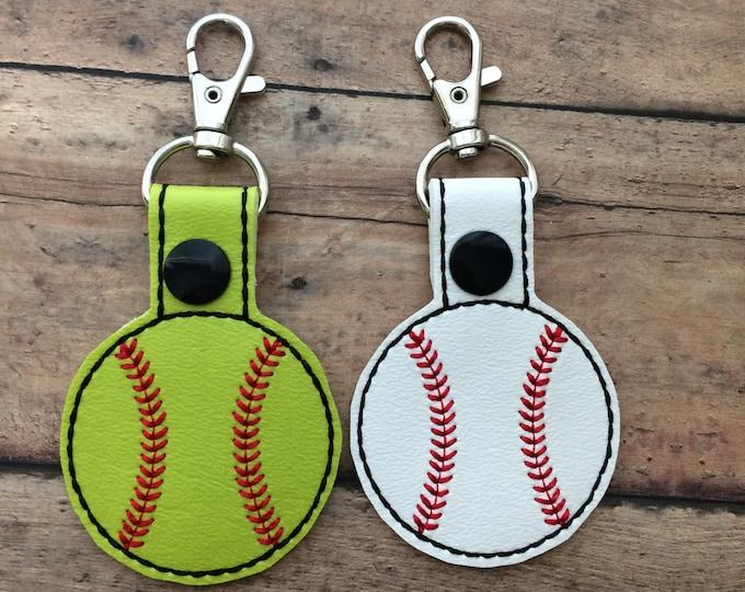 Baseball Softball Bag Tag