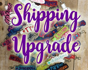 ADD Shipping Upgrade to a previous order