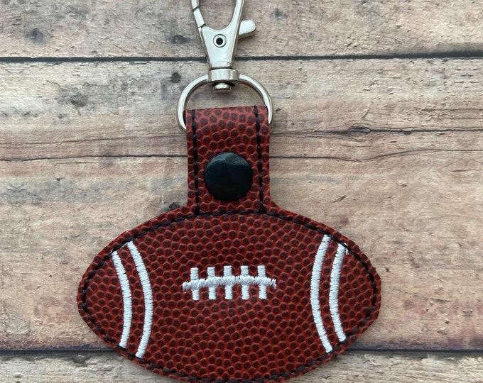 Football Bag Tag / Zipper Pull