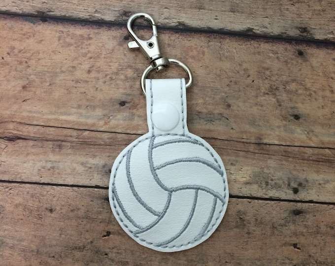 Volleyball Bag Tag / Zipper Pull