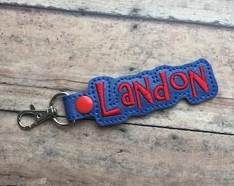 Royal Blue Bag Tag