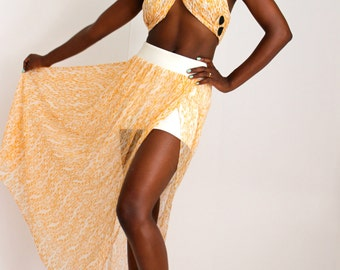 Paola maxi skirt