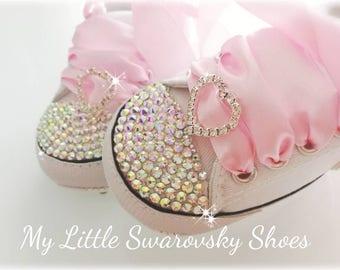 Diamond baby shoes  3debd8c9ec