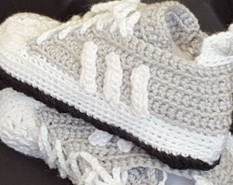 Adidas Slippers Men's Shoes Crochet Boots Wool Sneakers House Shoes
