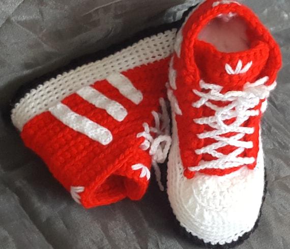 Wool Adida Inspired High Top Sneaker