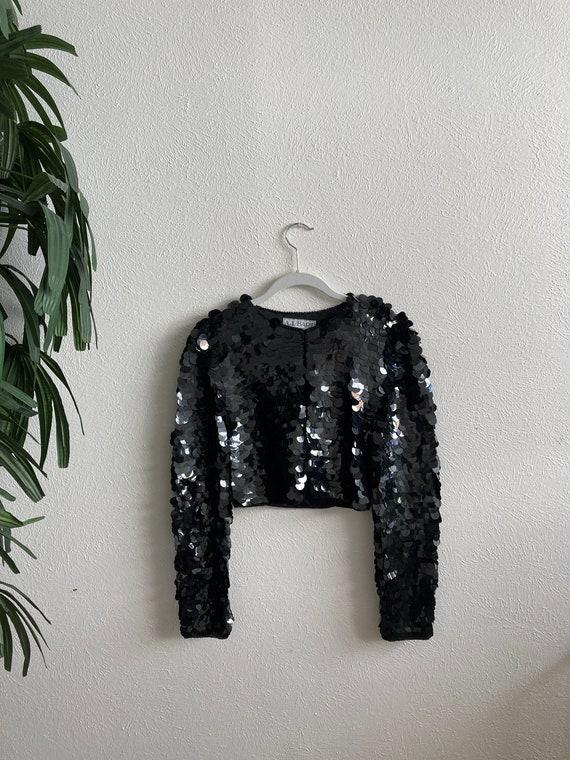 Large Sequin Bolero Jacket