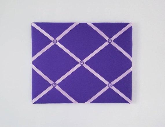 Paarse Slaapkamer Spullen : Paarse franse memo board paarse stof lint board paarse etsy
