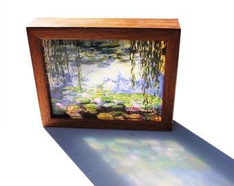 Water Lilies Claude Monet see through print