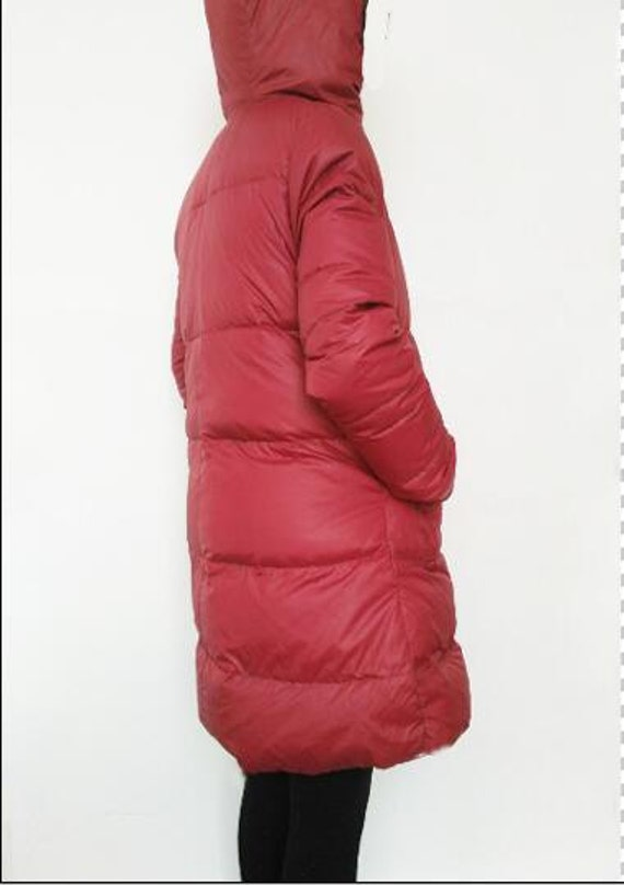 Size Down Colors Many Hooded Women Down Red Winter Plus Thick jacket Down jacket Warm Jacket nBxgIT6