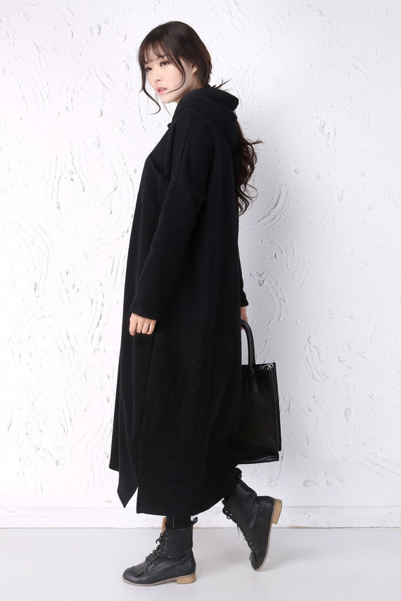 Coat Winter Made Coat Long Winter Custom Women Warm Thick Fleece Thermal Coat Women 1qfAwZ