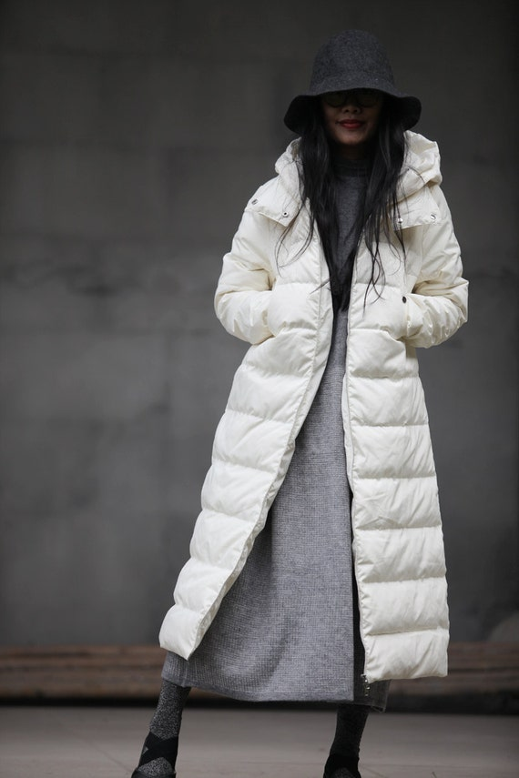 Women Winter Jacket Coat Long Plus Down Duck Coat Down Thick Many Coat Hooded Warm Size Colors IzfCwI
