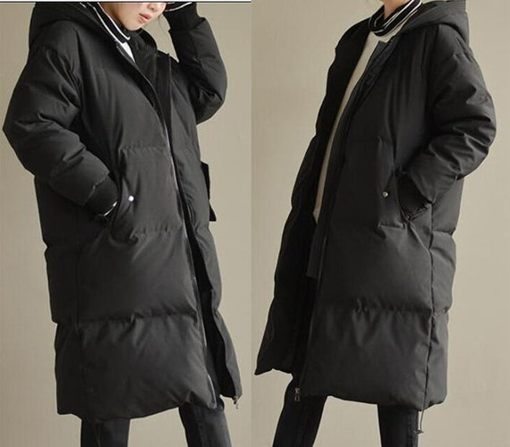 Hooded Women Winter 90% Duck Down Jacket Thick Women Warm Down jacket Winter Down Coats Custom Made Any Size