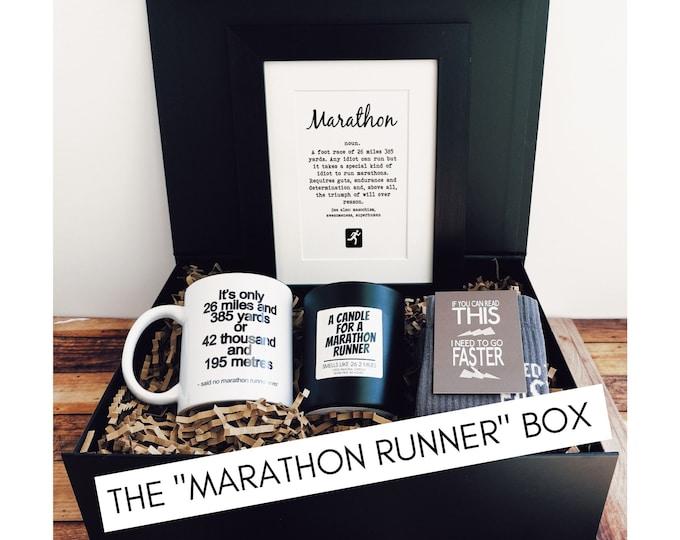 """Marathon Gifts - The """"Marathon Runner"""" Box"""
