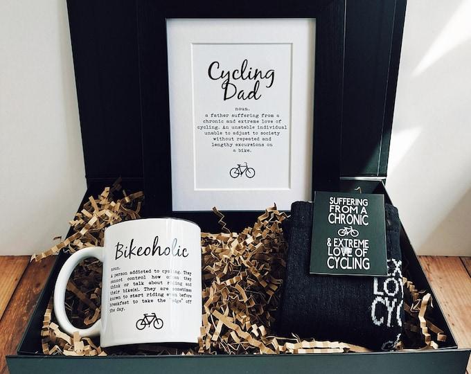 Cycling Dad - Cycling Gift Set - Cycling Gifts