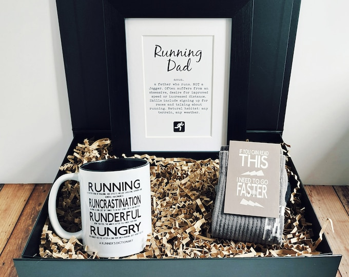 Father's Day Gift - Running Dad - Running Gift Set