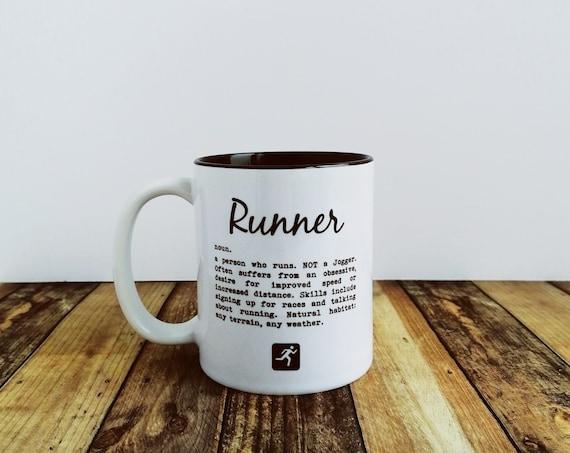 Runner definition - Running Mug, Mug for Runner, Runner Mug, Running Gift, Funny Gift, Gift for Runner