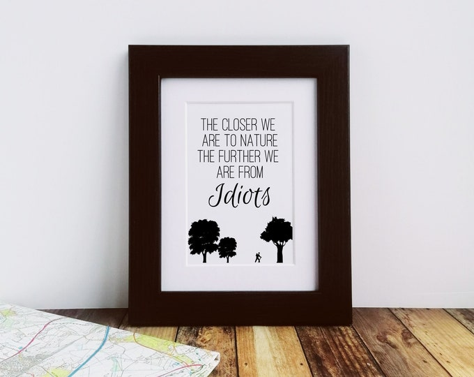 The Closer to Nature.....Framed Print
