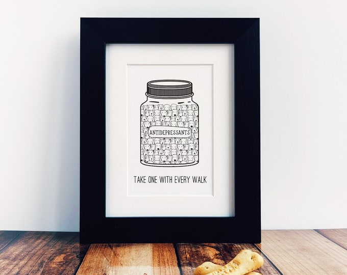 Dog Lover Gift - Take One With Every Walk.