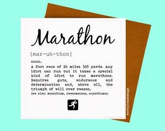 Spectator card spectathlete definition greetings card for etsy marathon card marathon definition marathon card half marathon card running quote greetings card for runner m4hsunfo