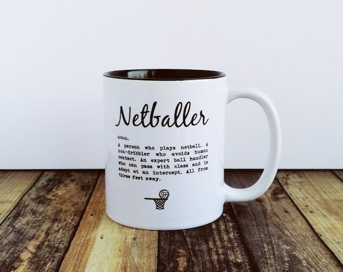 Mug - Netballer Definition - Gifts for Netball Lovers