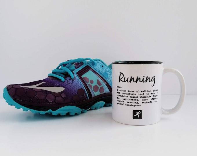Mug - Running Definition - Gifts for Runners Men