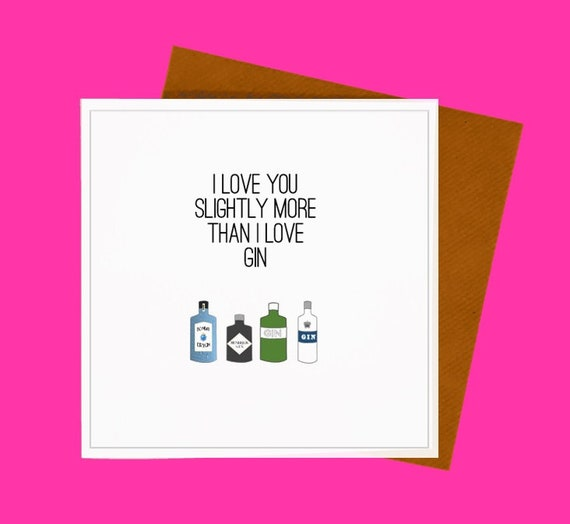 Gin and Wine Greetings Cards - Sale cards/end of the line. Various designs. Gin Card, Wine Card. Gin Lover. Wine Lover.