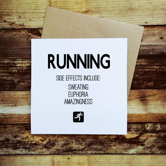 Running Cards - Running Definition - Card for a Runner.