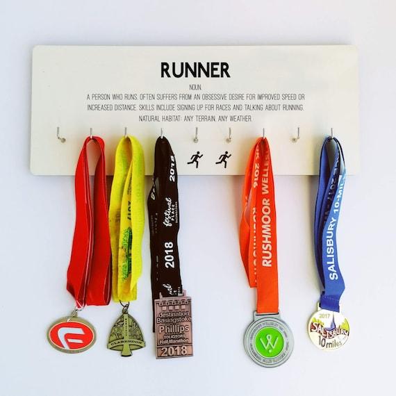 PRICE REDUCED.: Runner - Medal Hanger, Runner Medal Hanger, Medal Hanger Runner, Running Gift, Funny Running Gift