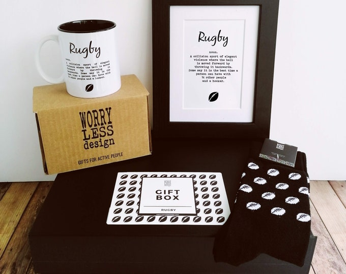 Gift Set - Rugby - Rugby Gifts for Him