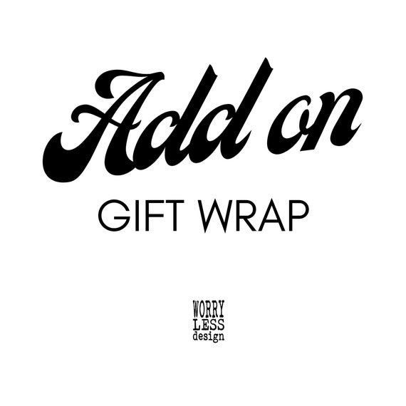 Add Gift-Wrapping