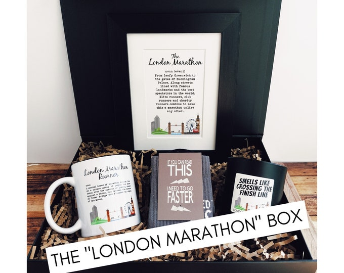 The London Marathon - Marathon Gift Set