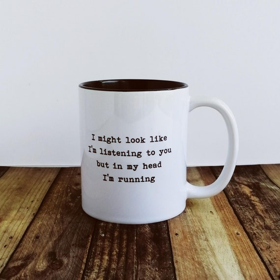 Runner Gifts - I might look like.... Mug. Running Buddy Gift, Runner Gifts Men, Trail Running Gifts, Funny Running Gifts for Men, Marathon