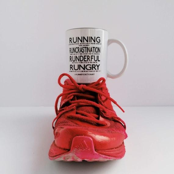 A Runner's Dictionary Mug - Running Gift, Funny Running Gift, Gift for Runner, Running Mug, Mug for Runner, Runner Mug